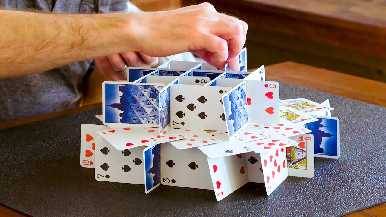 How to Stack Playing Cards | WIRED