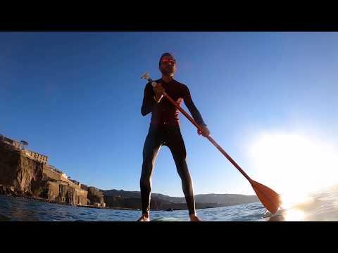 Stand up paddle al tramonto | GoPro Hero8