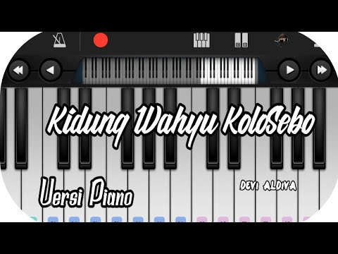 Chords For Kidung Wahyu Kolosebo Versi Piano
