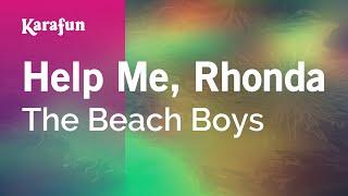 Karaoke Help Me, Rhonda - The Beach Boys *