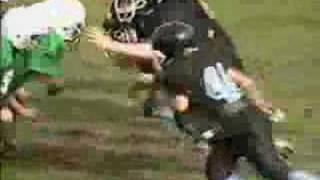 Caleb's 2007 Football Season