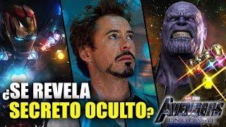 El Secreto Que Oculta Tony Stark En Su Brazo Izquierdo -Parte 2 Avengers: End Game Teoría