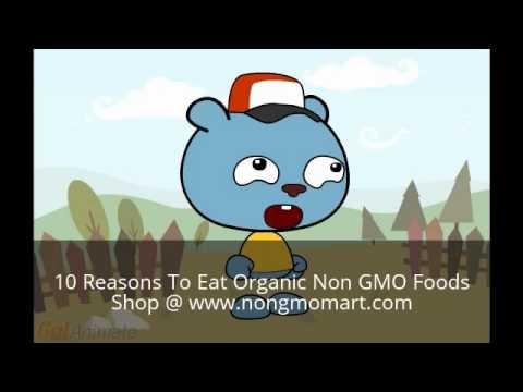 10 Reasons To Eat Organic Non GMO Food!