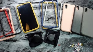 Rhinoshield New Lenses, SolidSuit Cases, Mod NX Cases, and CrashGuard NX Cases || iPhone XS MAX