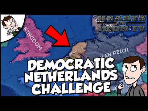 Hearts of Iron 4 HOI4 Democratic Netherlands Survival Challenge