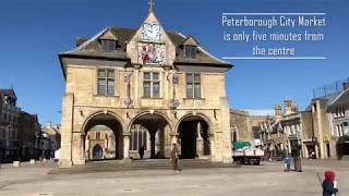 A quick walk to Peterborough City Market