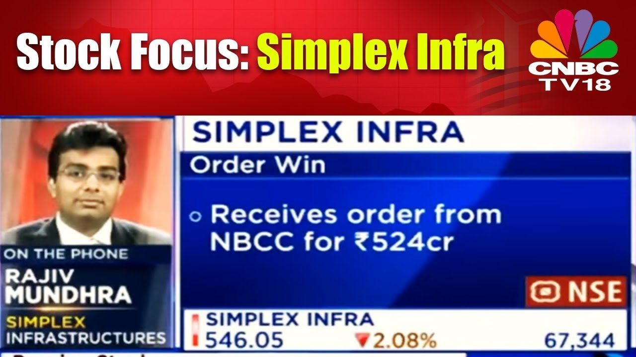 Stock Focus: Simplex Infra   NBCC Awards Rs 524 Cr contract to the Co    MIDCAP Radar