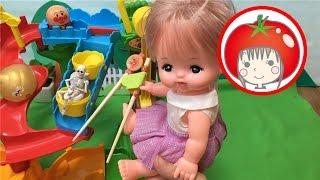 ❤️トマトおねえさん❤アンパンマン メルちゃん おもちゃ それいけ!コロロンパーク すすめ!コロロン どきどきアスレチック 骸骨 うんち thumbnail