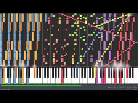 *HD* Piano Tutorial  How to play the hardest song of all time
