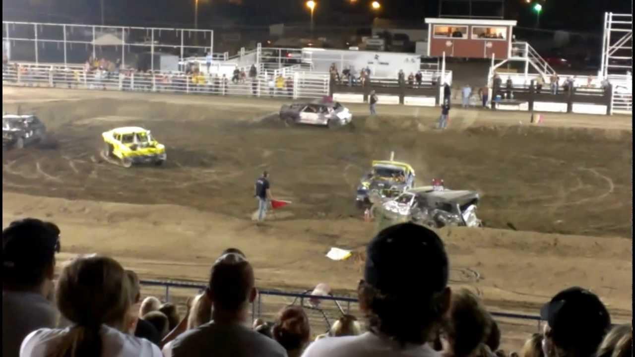 Demolition Derby in Garden City, Ks 7/28/2012 (Main Event) - YouTube