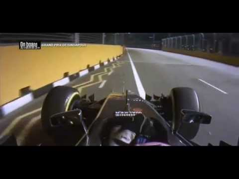 F1 2014 Singapore - Jenson Button Onboard DNF
