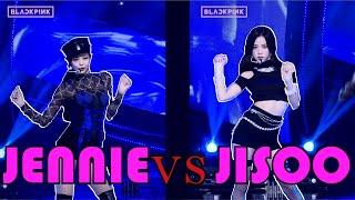 BLACKPINK - '뚜두뚜두 ' JISOO vs JENNIE FOCUSED CAMERA