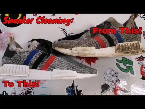 Sneaker Cleaning: Adidas NMD