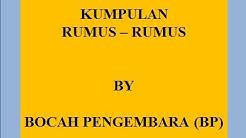 KUMPULAN RUMUS   RUMUS MATEMATIKA SMP BAG 1