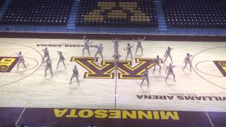 DanceFullOut13 - Minnesota State University Mankato Dance Team Jazz 2014