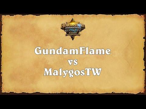 GundamFlame vs MalygosTW - Asia-Pacific Summer Championship - Quarterfinal 2