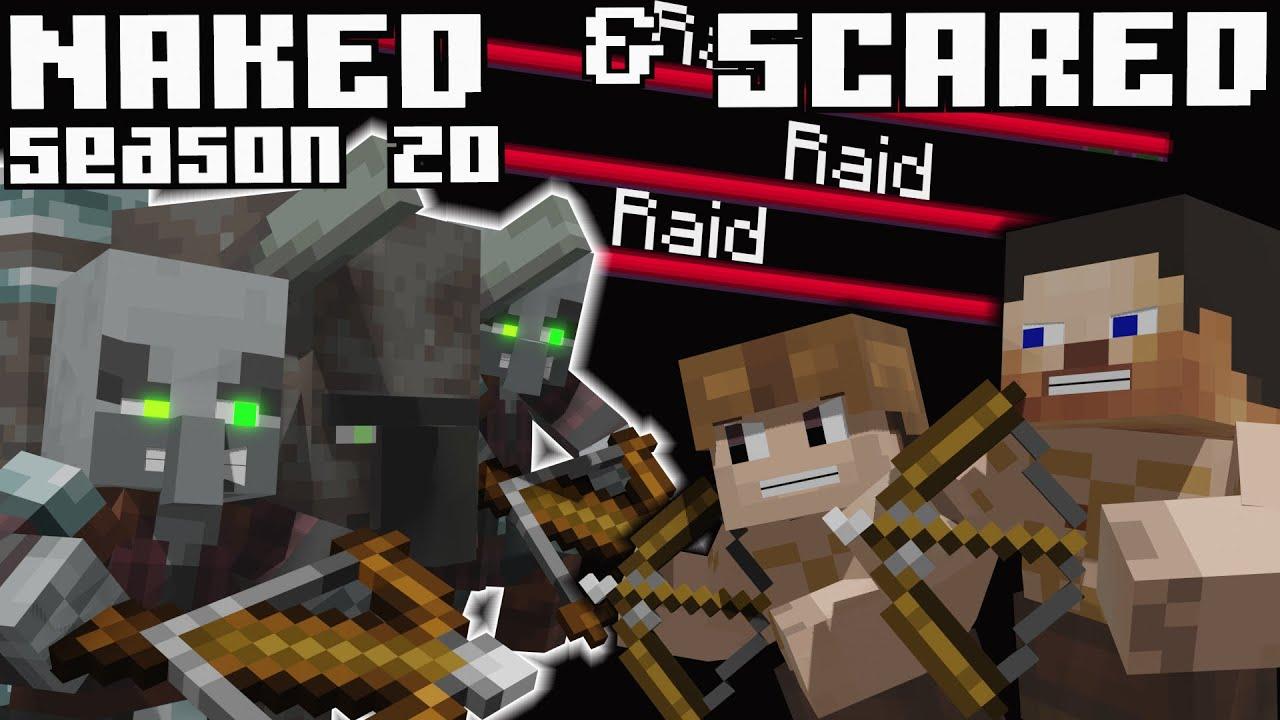 Naked & Scared: Minecraft Challenge in Ultra Hardcore Season 20 - Episode 13