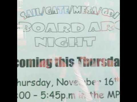 Cardboard arcade night at Isabelle Jackson elementary school