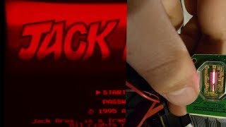 Taking a close look at the Virtual Boy's 1 pixel display.