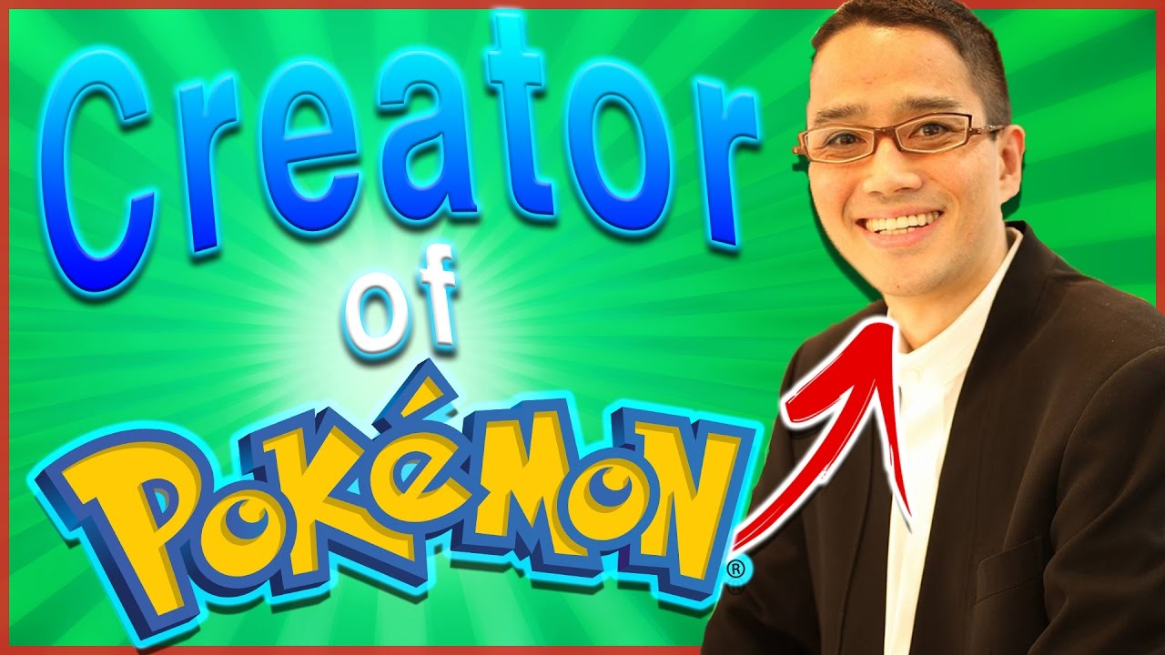 10 amazing facts about the creator of pok mon youtube - Inventer carte pokemon ...