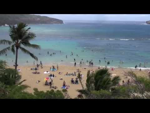 Hanauma Bay Beach relaxation Hawaii