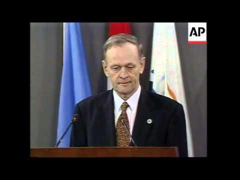 CANADA: OTTAWA: ANTI LANDMINE TREATY CONFERENCE UPDATE