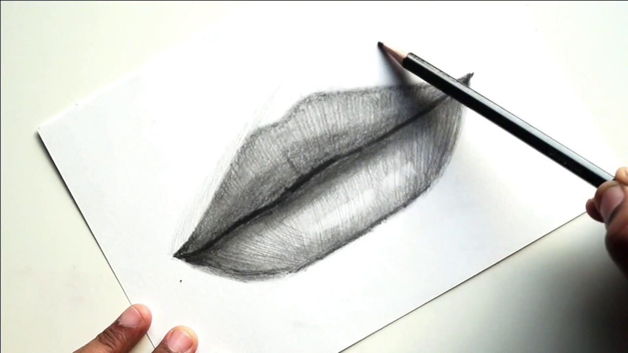 How to draw Lips-Portrait series Episode 3