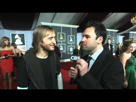 53rd Grammy Awards - David Guetta Interview