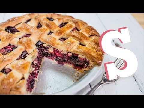Sweet Cherry Pie Recipe - SORTED
