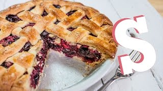 Sweet Cherry Pie Recipe - SORTED