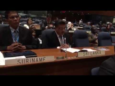 Video of Address to the 39 Assembly of ICAO 2016