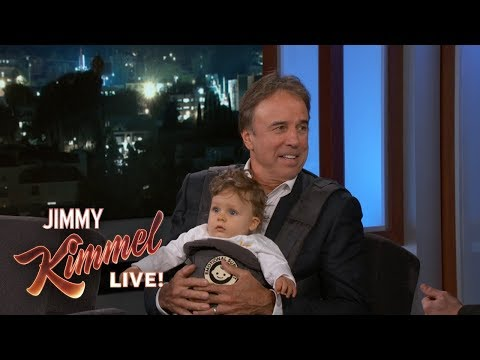 Kevin Nealon Has an Emotional Support Baby