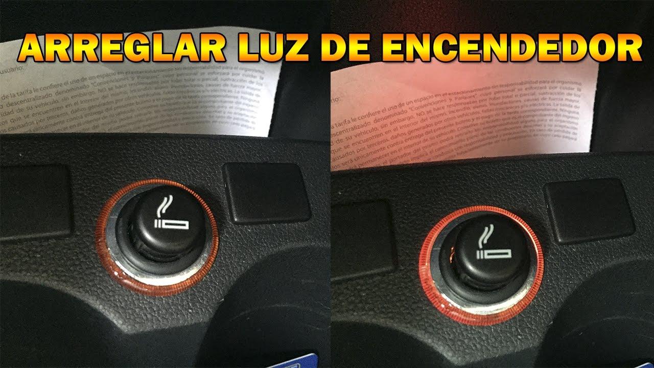 Vw Golf Sportwagen >> Arreglar luz del encendedor de VW Vento/Polo Luz de consola - YouTube