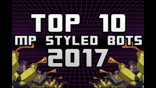Top 10 MP & 3rd Party Transformers Figures for 2017