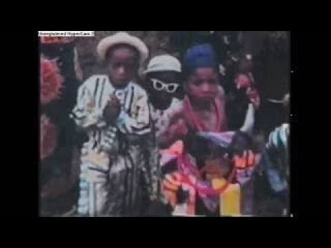 TRADITIONAL DANCE GIVES GUINEA EQUATORIAL. Tribu Fang