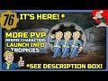 Fallout 76 Is Here! Future DLC More PVP! Events Plus Download Size + Trophies Info