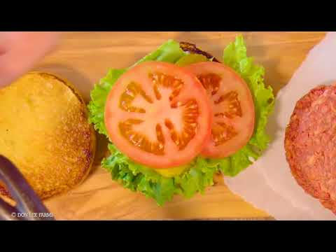Breakthrough Plant-Based Burger from Don Lee Farms ...