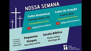 Culto Noturno -  17/01/2021   O Plano Eterno de Deus para salvar o seu Povo