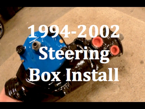 1994 2002 Dodge Ram Cummins 2500 Steering Box Install Youtube