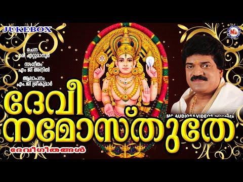 ദേവീ നമോസ്തുതേ | DEVI NAMOSTHUTHE | Hindu Devotional Songs | M.G. Sreekumar