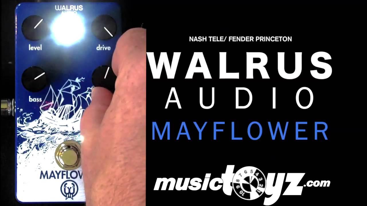 walrus audio mayflower overdrive youtube. Black Bedroom Furniture Sets. Home Design Ideas
