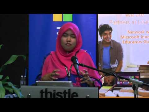The Microsoft Innovative Educator (MIE) Expert 2016 at Johor - Farhana (SMKTAI,Terengganu)
