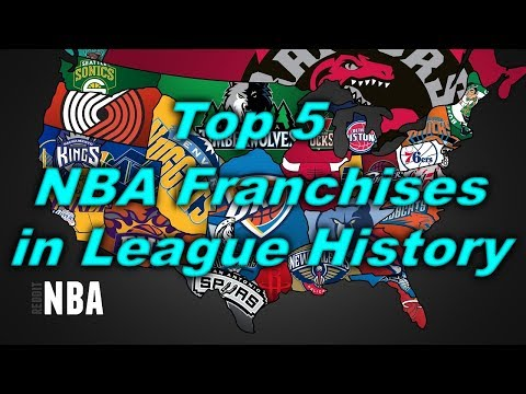 Top 5 GREATEST NBA Franchises in League History!