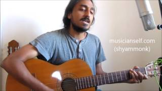 Neetru Illathe Matram Unplugged: (A R Rahman Puthiyamukham) Chords, Singing, Guitar Rhythm
