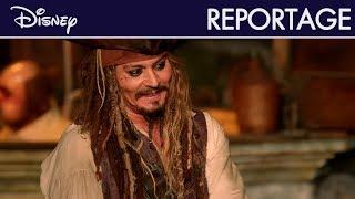 Pirates des Caraïbes : La Vengeance de Salazar - Reportage : Surprise de Johnny Depp à Disneyland