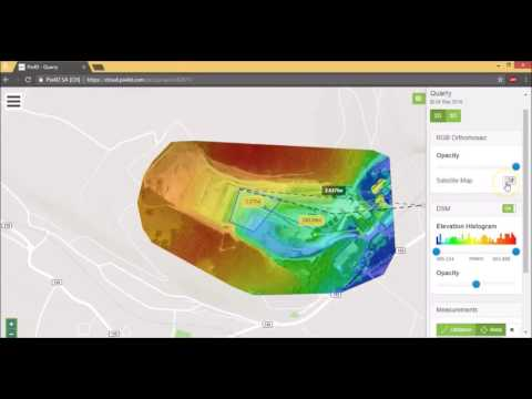 The Ultimate Guide for Land Surveying with Drones (How to use Pix4D Cloud)