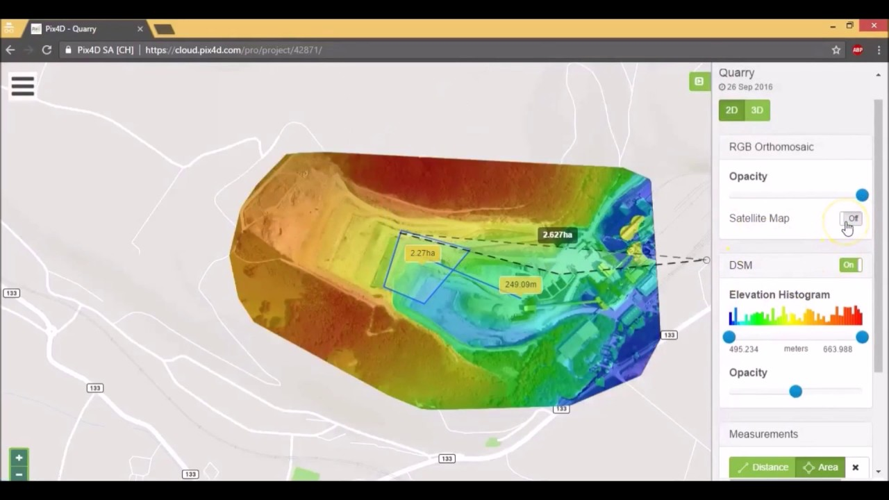 HUVIAiR The Ultimate Guide for Land Surveying with Drones (How to use Pix4D  Cloud)