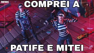 FORTNITE BOUGHT THE ROGUE SKIN AND MITEI IN THE SQUAD WITH THE PARÇA