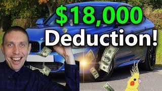Vehicle Tax Deductions (Writing off a Vehicle for business Using Section 179 Depreciation)