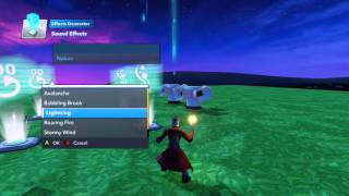 Disney Infinity 2.0: Toy Box Tutorial - Lighting & Thunder Effects - 2 / 3